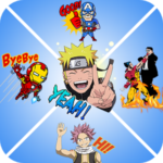 Anime Stickers for WhatsApp - (WAStickerApps)