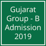 Gujarat Medical Admission 2019