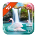 Live Wallpaper Waterfall& Swan Apk Download For Android