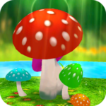 Mushrooms 3D Live Wallpaper