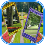 Nature photo frames dual: Photo editor & filters