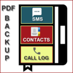 SMS, Call - XML, PDF, CSV(Super Backup & Restore)